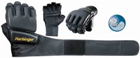 Harbinger WristWrap Bag Gloves - S