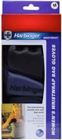 Harbinger Womens WristWrap Bag Gloves - L