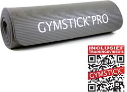 Gymstick fitnessmat NBR Grijs Met Trainingsvideo's