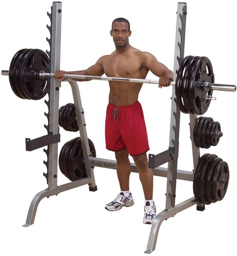 Body-Solid Multi Press Squat Rack