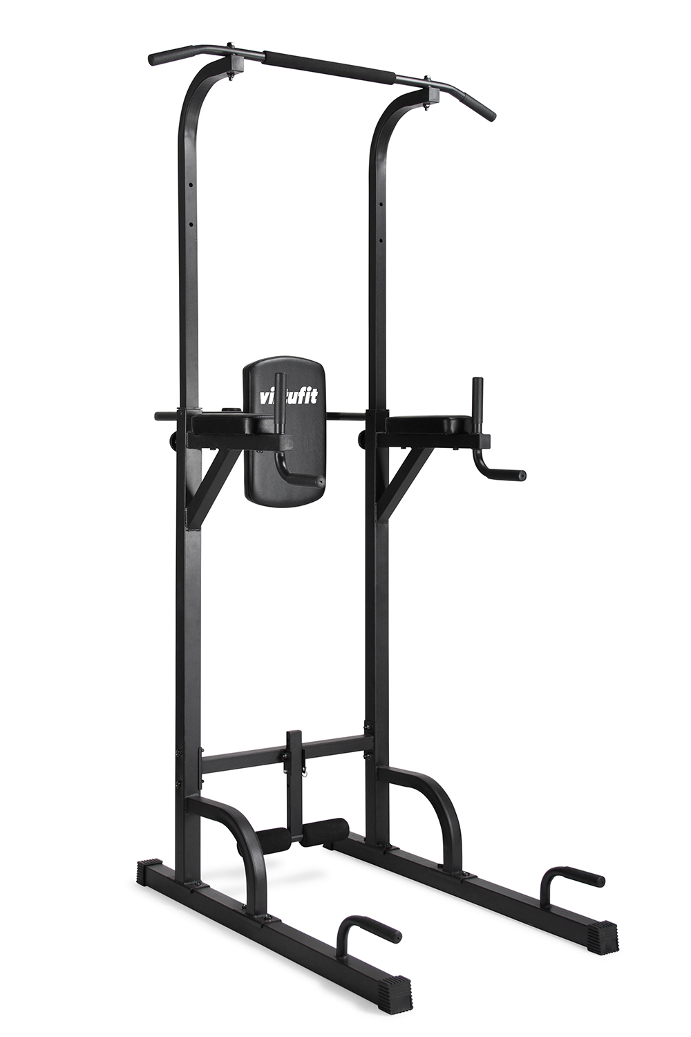 VirtuFit Verstelbare Power Tower Pull Up Station Dip Station