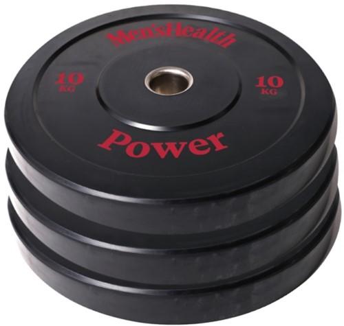 Men's Health Bumper Plate - Halterschijf - 50 mm - 10 kg