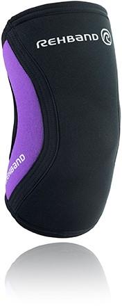 Rehband Elleboogbrace RX 5MM - Zwart/Paars