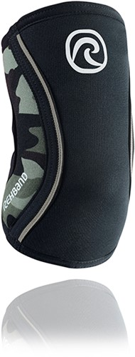 Rehband Elleboogbrace RX 5MM - Zwart/Camo