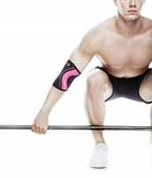 rehband rx line elbow support pink