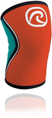 Rehband RX Kniebrace - 5 mm - Oranje/Turquoise