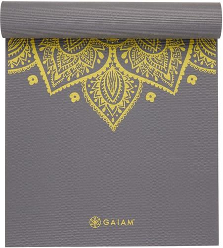 Gaiam Yoga Mat - 6 mm - Citron Sundial