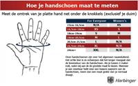 Harbinger 1205 Big Grip Wristwrap gloves-3
