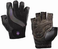 Harbinger Womens Training Grip - Charcoal/Black-1