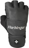 Harbinger Classic WristWrap Fitness Handschoenen Black-1