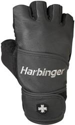 Harbinger Classic WristWrap Fitness Handschoenen Black