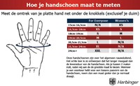 Harbinger Classic WristWrap Fitness Handschoenen Black-2