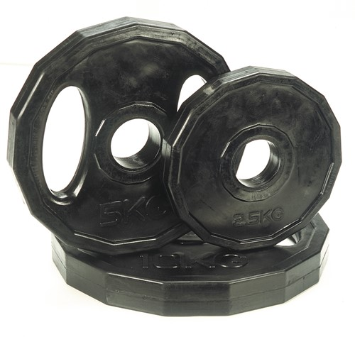 Marcy Rubber schijf 1.25 kg (50 mm)