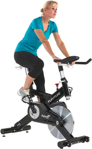 tunturi platinum sprinter pro spinbike model woman