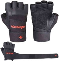 Harbinger Pro WristWrap Fitness Handschoenen-1