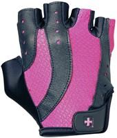 Harbinger Womens pro wash & dry 2 fitness handschoenen (black/pink)-1