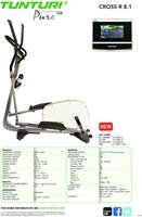 Tunturi Pure Cross R 8.1 - Crosstrainer - Gratis montage-2