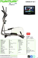 Tunturi Pure Cross R 10.1 - Crosstrainer - Gratis montage-2