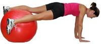 Fitnessbal Blauw-3