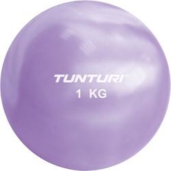 Fitnessbal 1 kilo paars