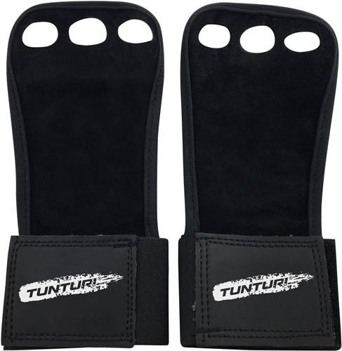 Tunturi Lederen Fitness Crossfit Handschoenen - S
