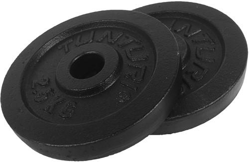 Tunturi Halterschijven Set - 30 mm - 2 x 2,5 kg
