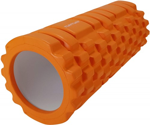 Tunturi Foam Grid Roller - 33 cm - Oranje