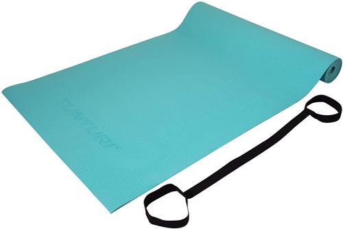 Tunturi PVC Yogamat - Fitnessmat - 182 x 61 x 0,4 cm - Turquoise