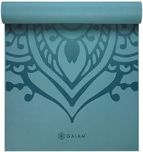 Gaiam Yoga Mat - 6 mm - Niagra