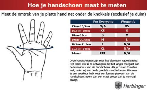 Harbinger Cross Trainer Gloves - Red-2