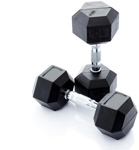 Muscle Power Hexa Dumbbell - 17.5 kg - Per Stuk