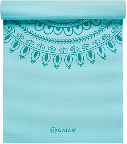Gaiam Yoga Mat - 6 mm - Marrakesh