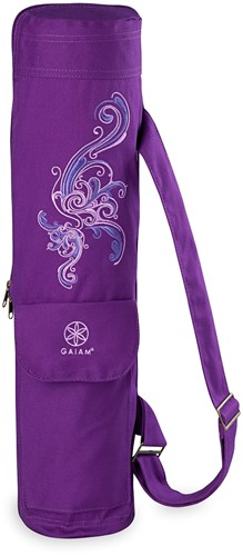 Gaiam Yogamat Tas - Deep Plum Surf