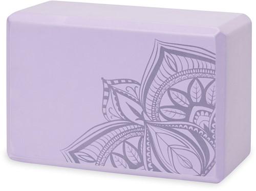 Gaiam Yoga Blok - Lilac Point