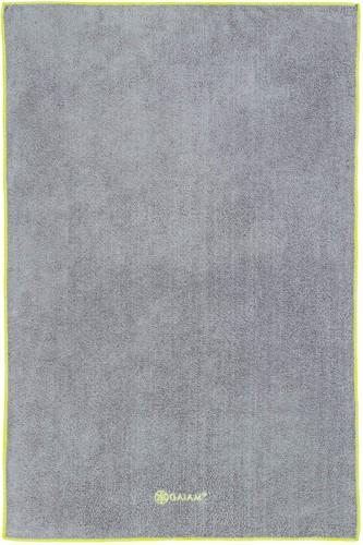 Gaiam Hand Towel Yogahanddoek - Citron / Storm