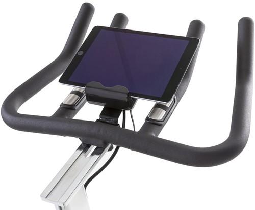 tunturi competence s40 spinbike tablethouder