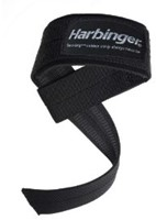 Harbinger BIG GRIP Padded Lifting Straps-1