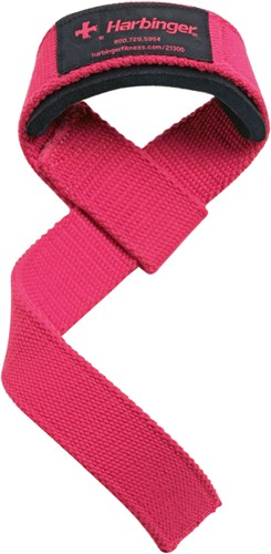 Harbinger Padded lifting strap roze