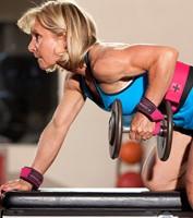 Harbinger Padded lifting strap roze-3