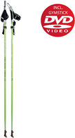 Gymstick health Nordic Walking stokken met DVD-2
