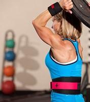 Harbinger Womens FirmFit Foam Core Nylon Belt