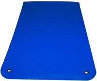 Reha Fit Fitnessmat - Yogamat - Blauw 180x65 cm