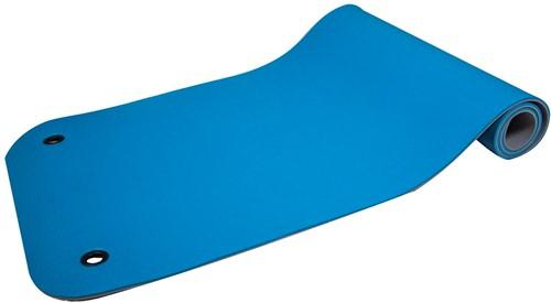 Reha Fit Fitnessmat - Yogamat - Turquoise/Grijs 180x65 cm-2
