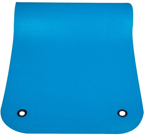 Reha Fit Fitnessmat - Yogamat - Turquoise/Grijs 180x65 cm-3