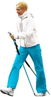 Gymstick force Nordic Walking stokken met DVD