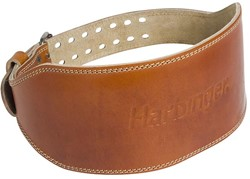 "Harbinger Classic 6"" Oiled Leather Gewichthefriem - 15 cm"