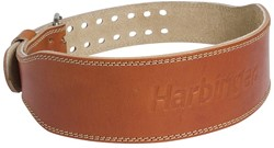 "Harbinger Classic 4"" Oiled Leather Gewichthefriem - 10 cm"
