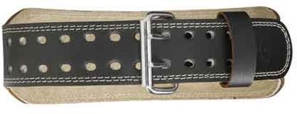 Harbinger 4 Inch Padded Leather Belt-3