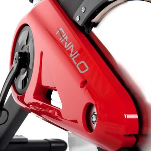 finnlo speed bike crt close up