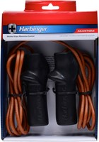 Harbinger 9 ft Trigger Handle leren springtouw-2